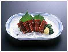 山口県 下関市下関名物 鯨 くじら一品料理 くじら刺身