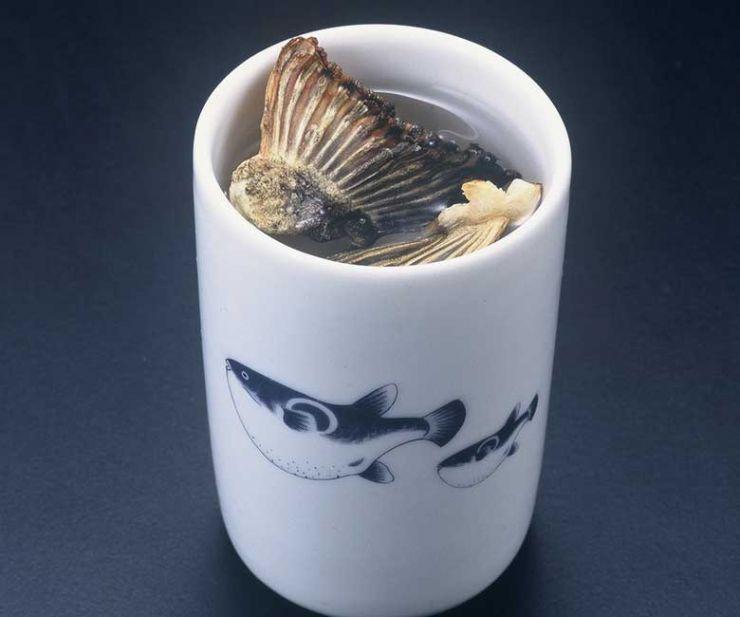 山口県 下関市のふぐの老舗 ふく処 喜多川 ふぐ一品料理 ひれ酒