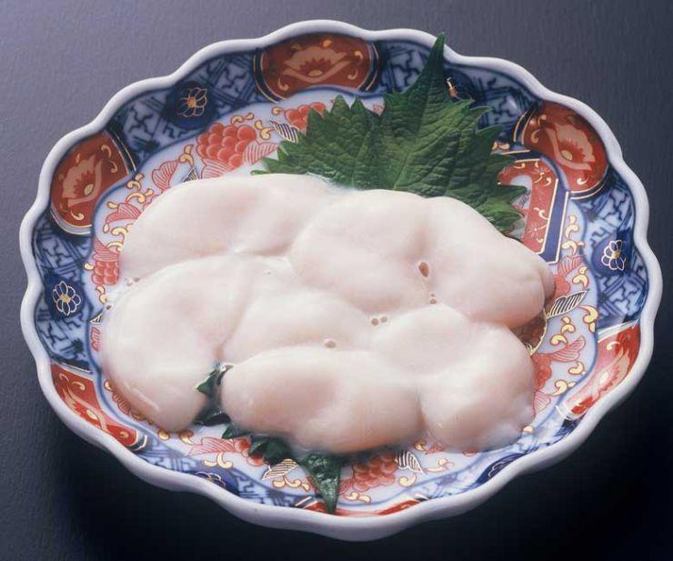 山口県 下関市のふぐの老舗 ふく処 喜多川 ふぐ一品料理 白子刺身